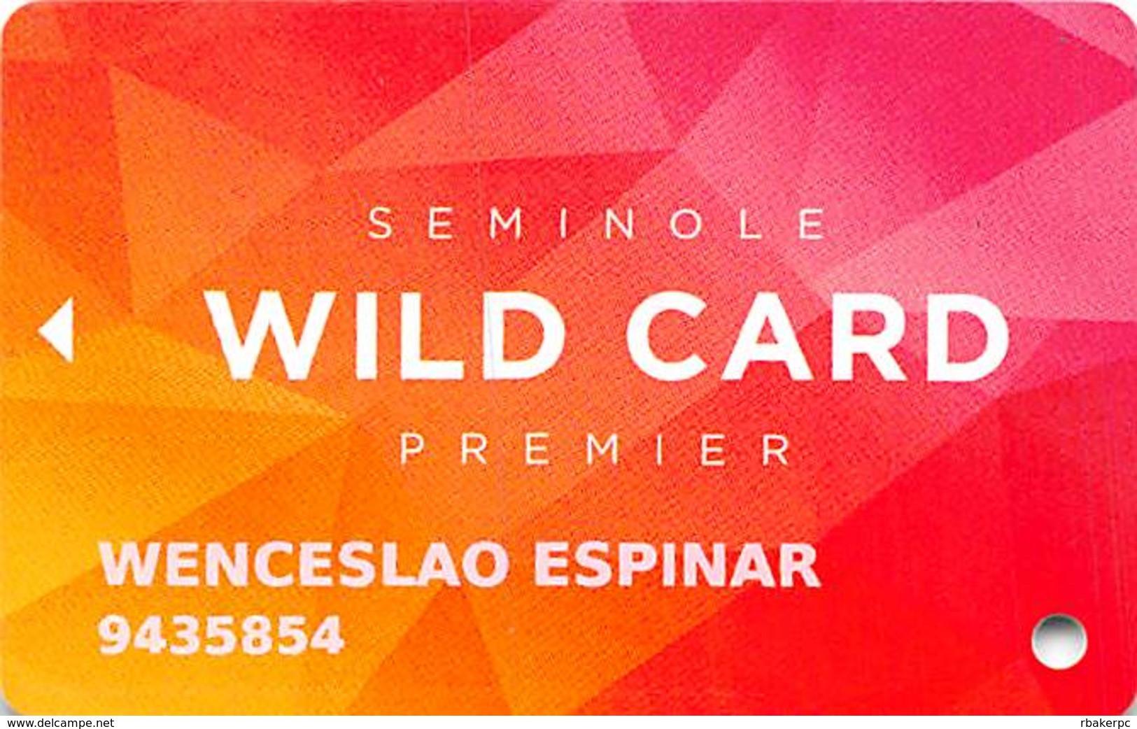 Seminole Hard Rock Casinos USA - Premier Slot Card - Casino Cards