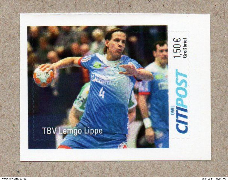 BRD - Privatpost -  CITIPOST - Handball - TBV Lemgo Lippe - Balonmano