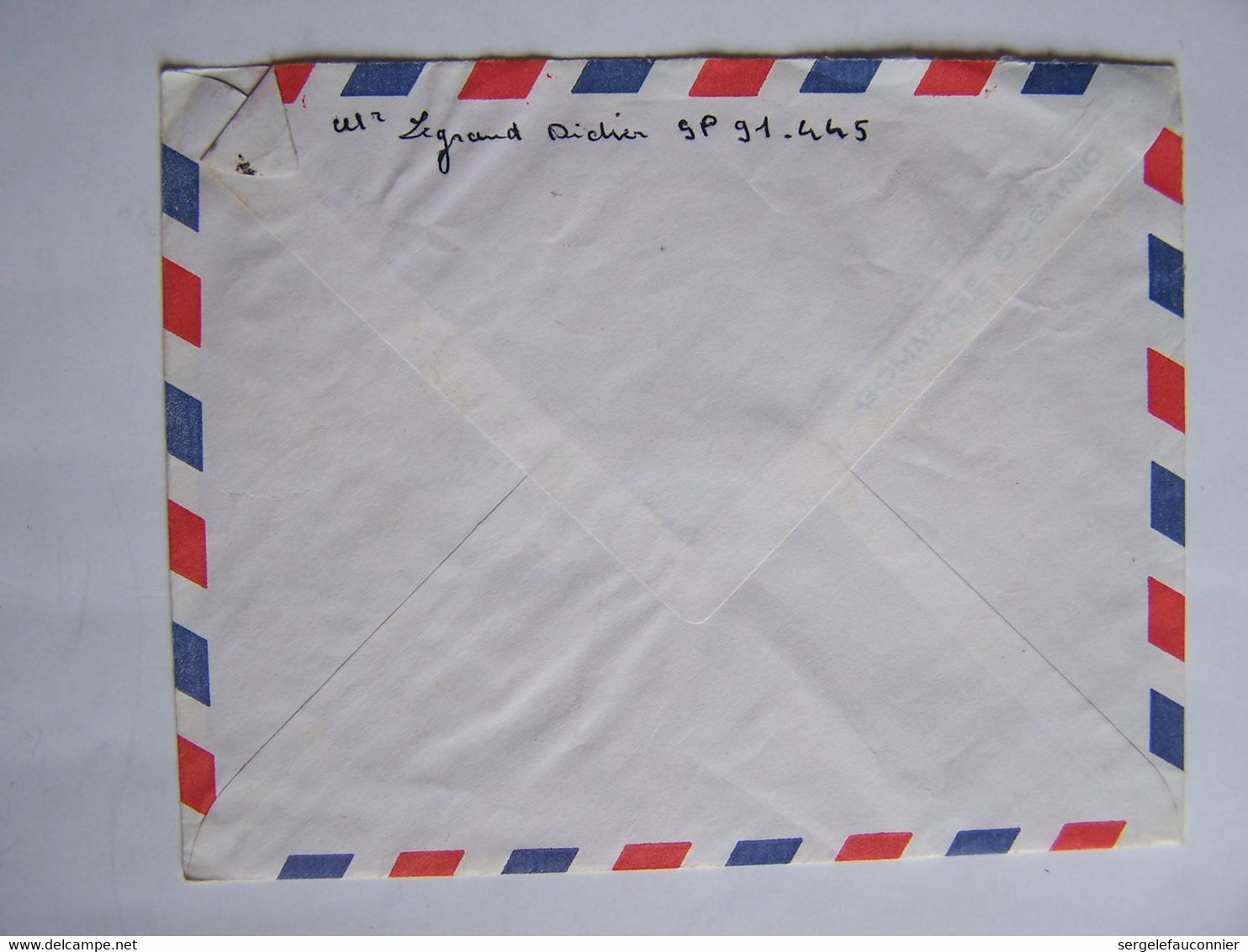 FRANCE TAHITI 20-3-1968  Vers SAINT LEU D'ESSERENT CACHET POSTE AUX ARMEES - Gebraucht