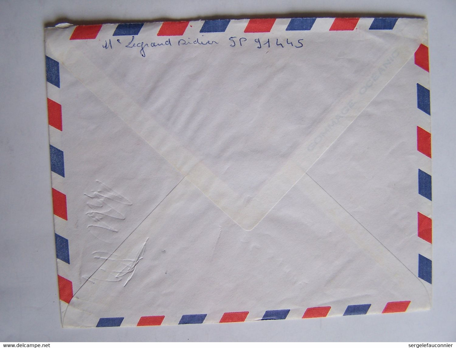 FRANCE TAHITI 22-4-1968  Vers SAINT LEU D'ESSERENT POSTE AUX ARMEES - Gebruikt