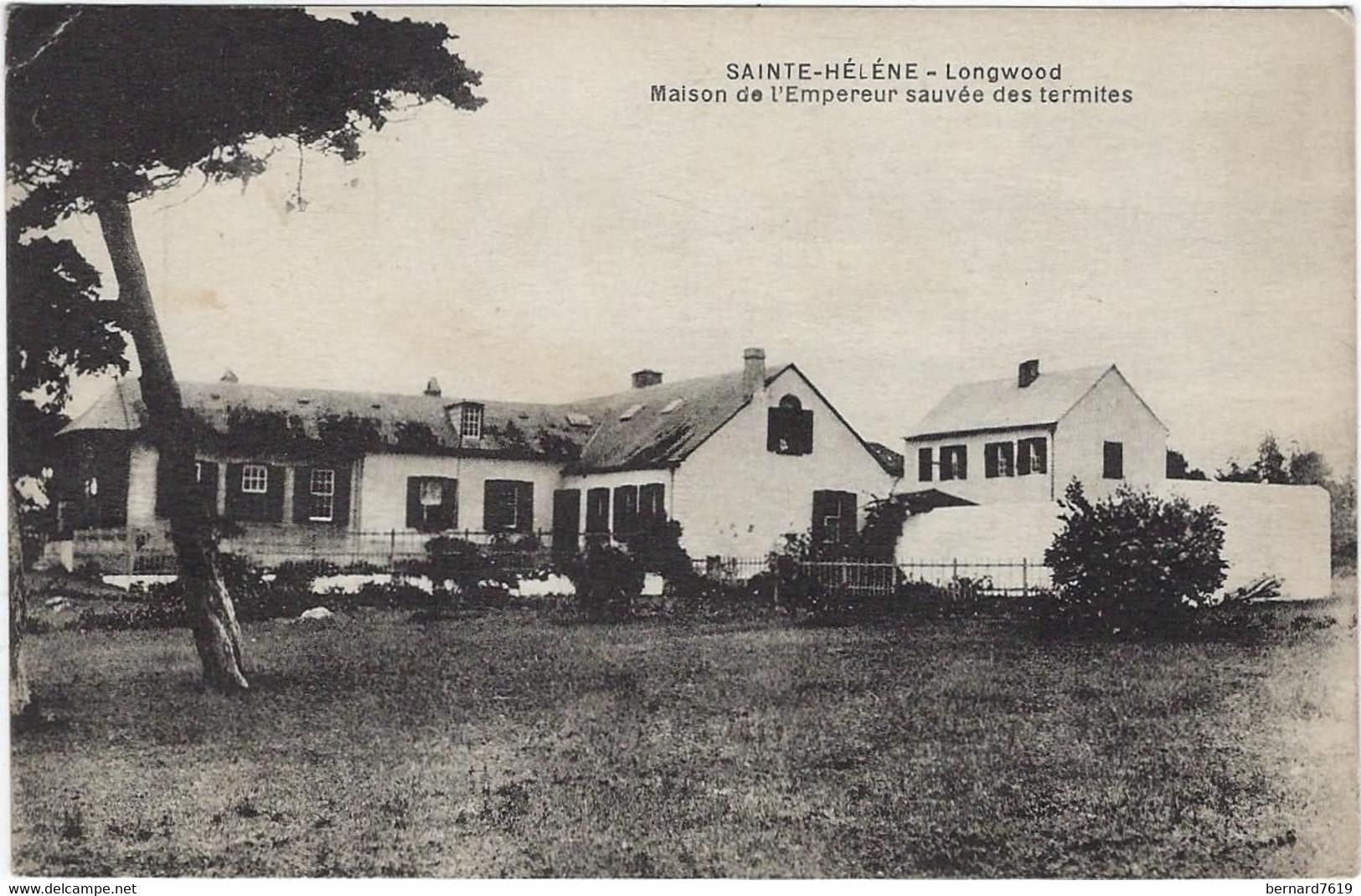 Afrique Sainte Helene - Longwood   - Maison De L'empereur Sauvee Des Termites -  Publicite Decamps 33 Bordeaux - Saint Helena Island