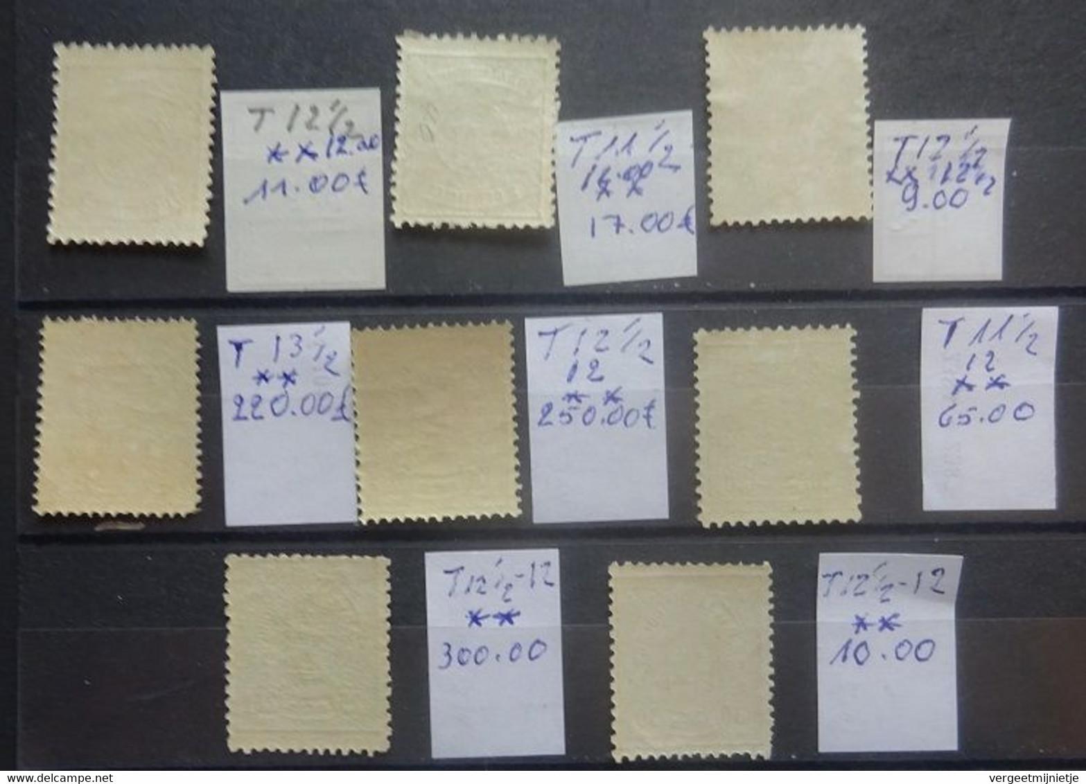 LUXEMBURG    1880  Nr. 37 - 44   Postfris **    Gemengde Tandingen   Zie Foto   CW 880,00 - 1859-1880 Coat Of Arms