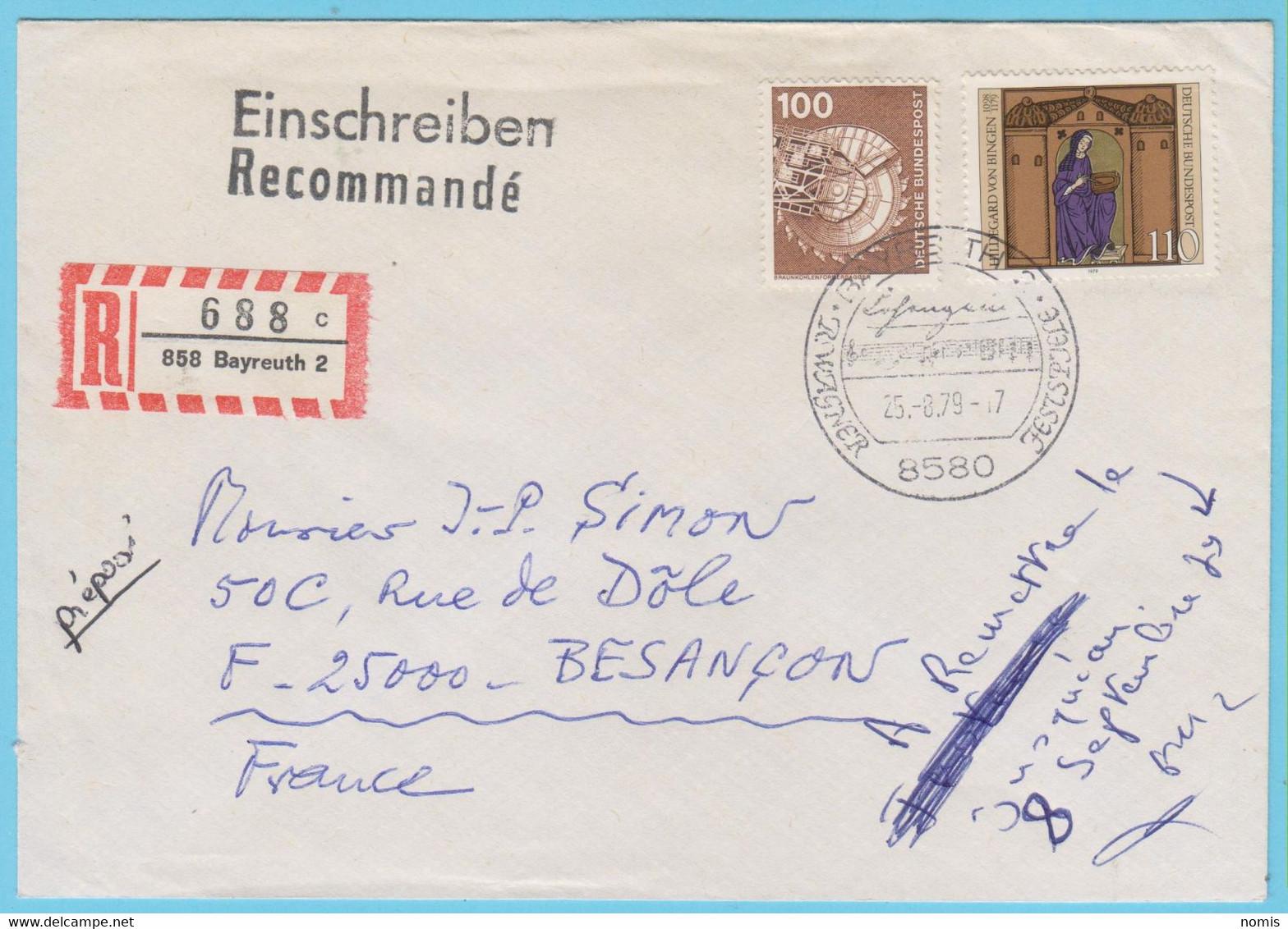 J.P.S. 31 - Allemagne - Compositeur - Oblitération - N° 33 - Wagner - Música