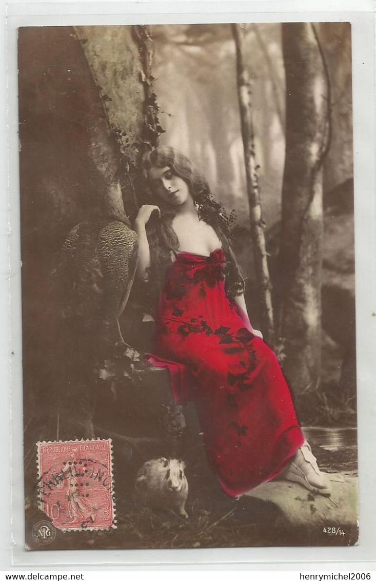 Cpa  Fantaisie Belle Femme ( état ) - Mujeres
