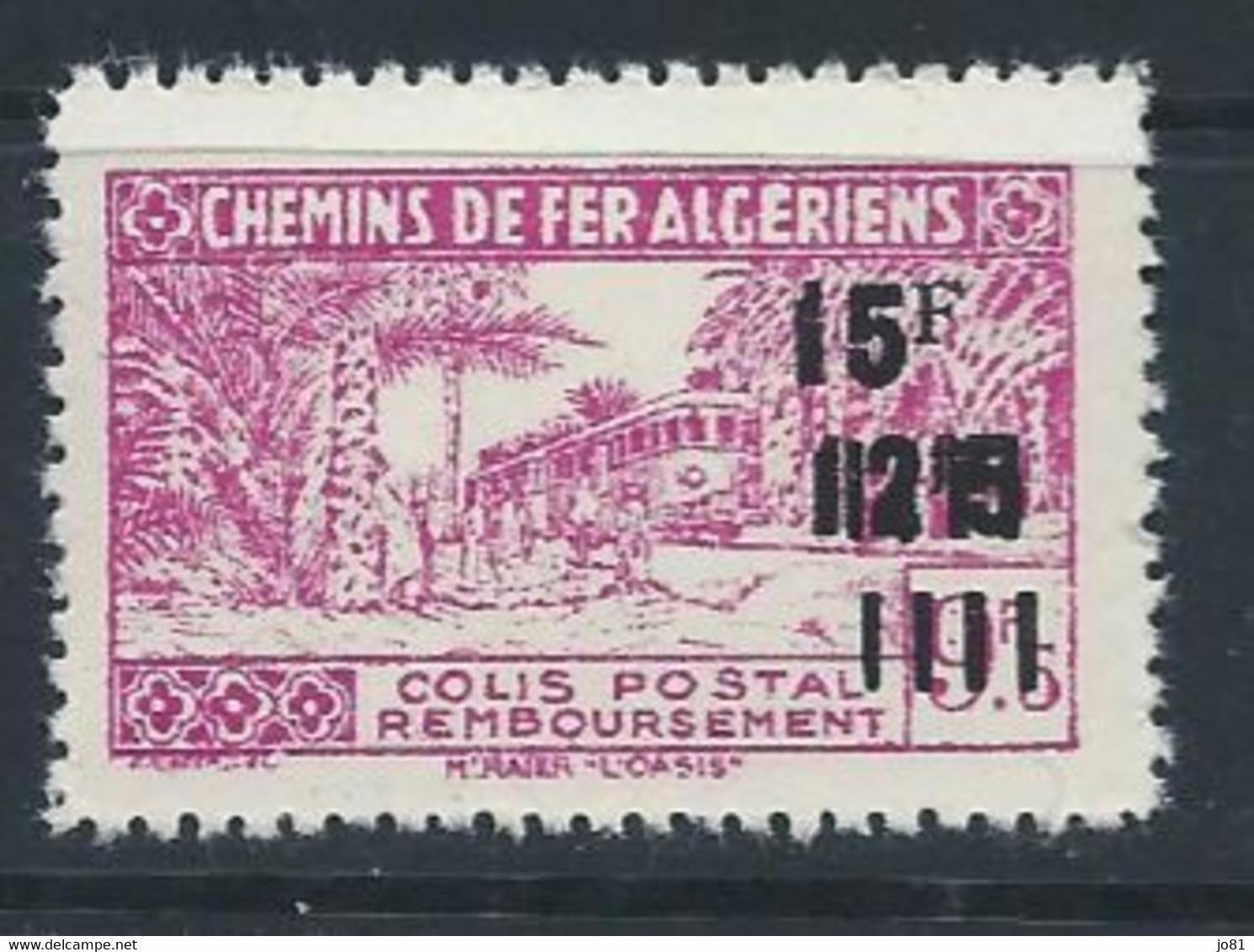 Algérie YT Colis-Postaux 198 Neuf Sans Charnière - XX - MNH - Parcel Post