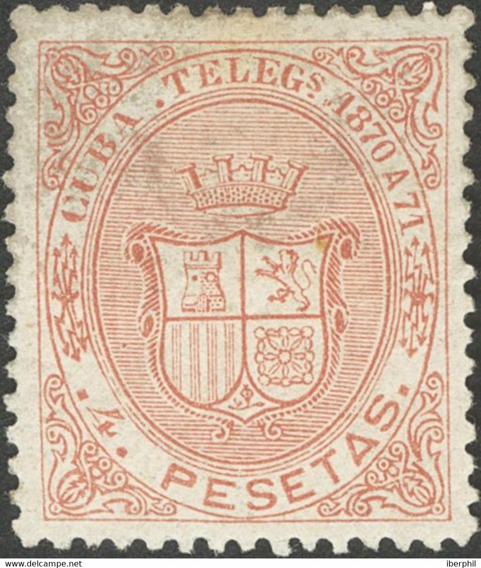 */(*)11/14. 1870. Serie Completa. MAGNIFCA Y RARISIMA. Edifil 2021: 820 Euros - Zonder Classificatie