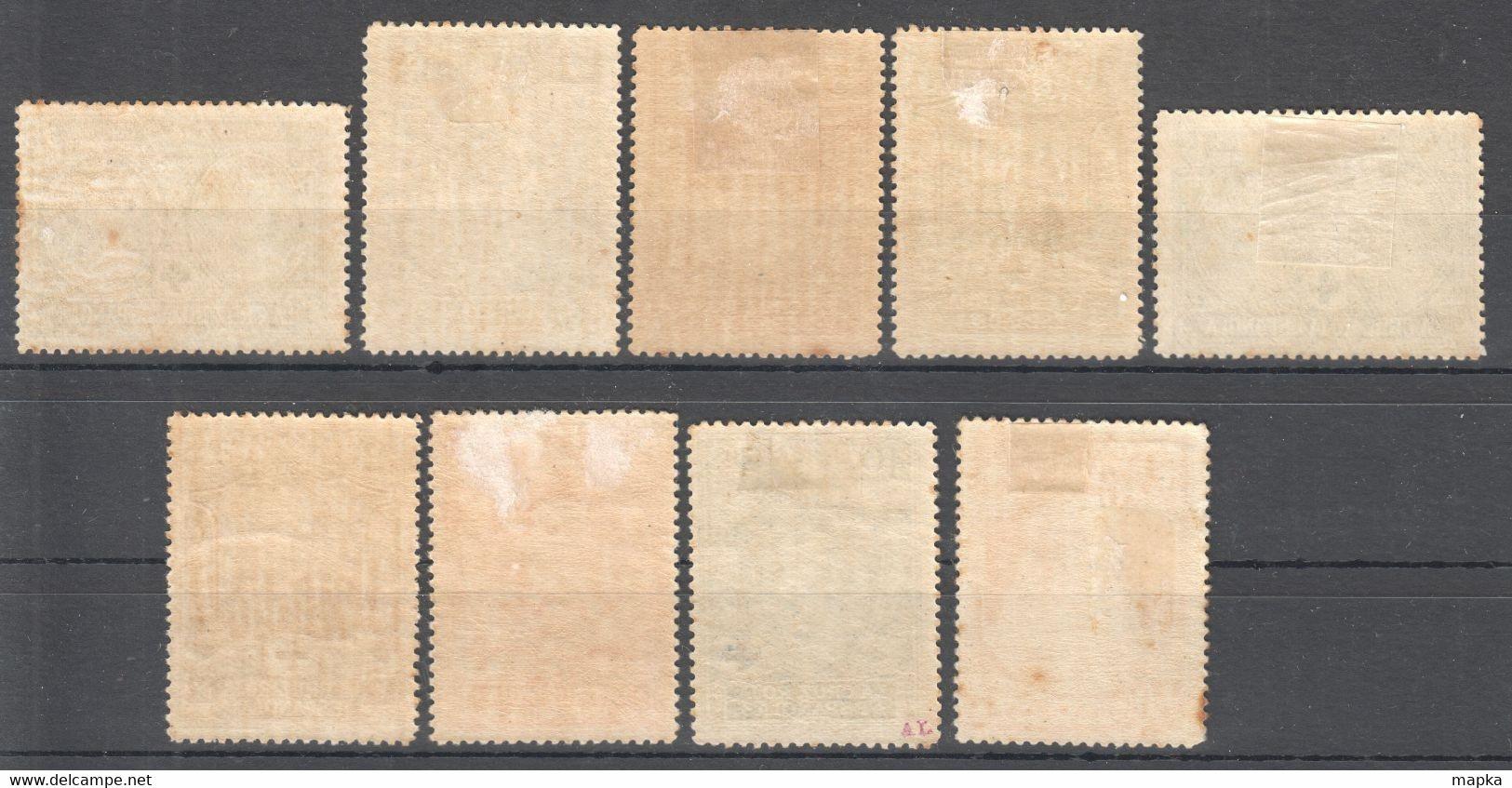 SP092 1926 SPAIN KINGDOM ALPHONSE XIII RED CROSS MICHEL #298-304,306,307 144 EURO 9ST LH - Ungebraucht