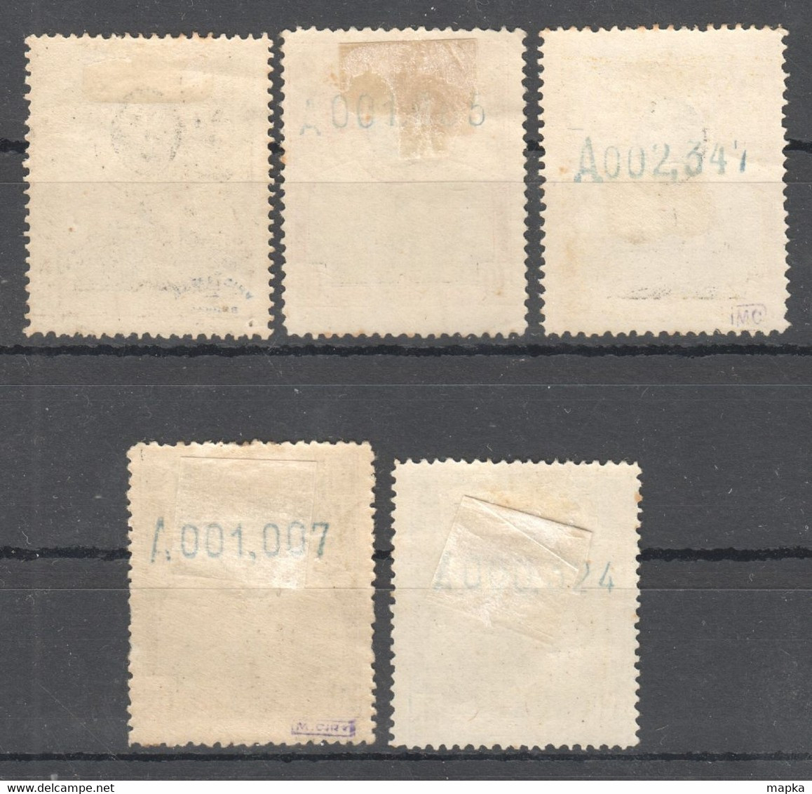 SP170 1920 SPAIN KINGDOM ALPHONSE XIII UPU MICHEL #268,270-273 ~25 EURO 5ST MLH - Unused Stamps