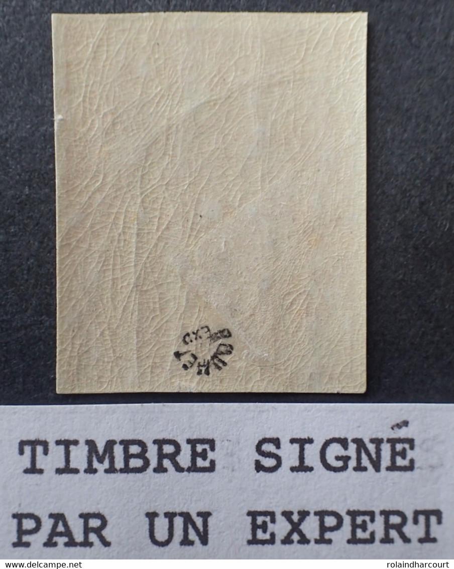 R1491/45 - 1900/1924 - TYPE BLANC - NON DENTELE - N°109d NEUF* LUXE ➤➤➤ Timbre Signé ROUMET Expert - 1900-29 Blanc