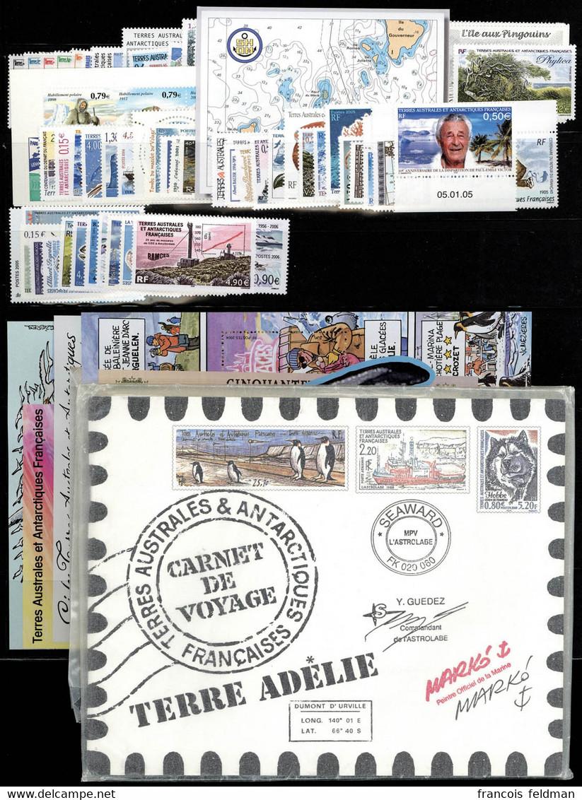 Neuf Sans Charnière Collection Complète Du N° 264 Au 451, Années 2000 à 2006 (sf 372/83 Et 418/28), TB - Photos WEB - Zonder Classificatie