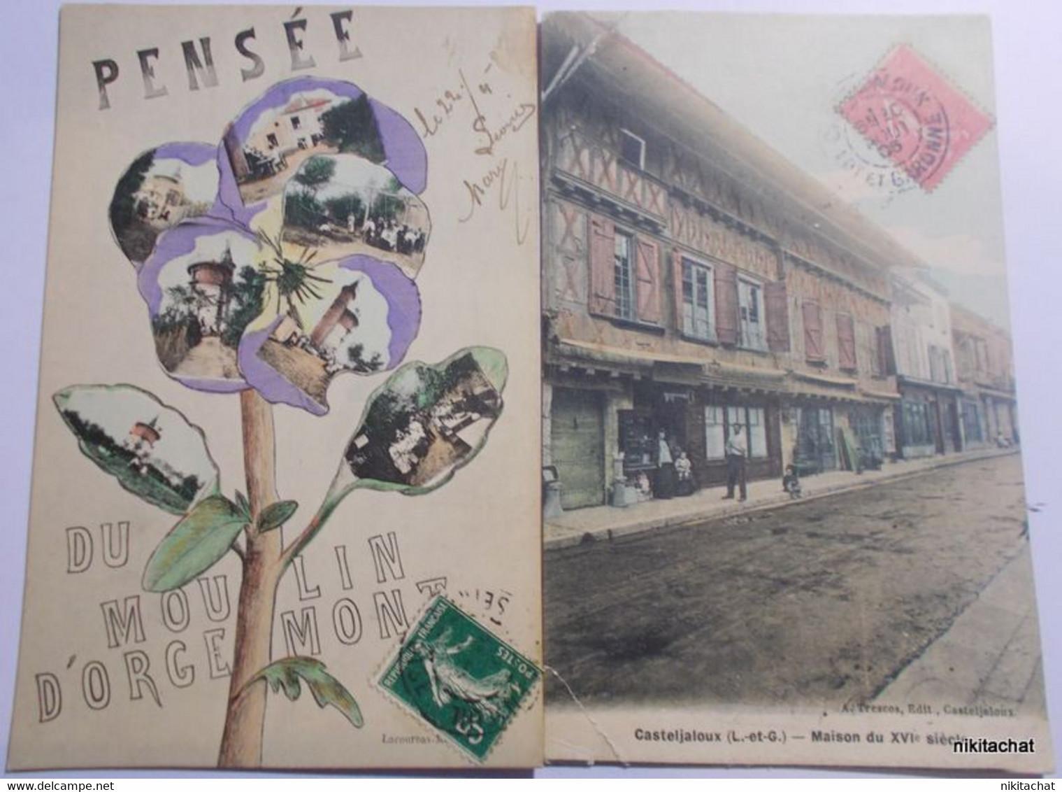 BEAU LOT 100 CARTES POSTALES Toutes Scannées-Nombreuses Animations-Cartes Rares.Départ 1 EURO-A VOIR!! - 5 - 99 Postcards