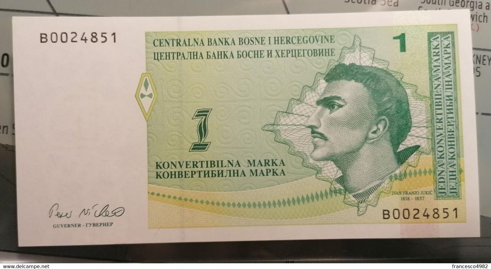 BOSNIA & HERZEGOVINA - P.59a – 50 K. Marka1998 - UNC - Bosnia Erzegovina