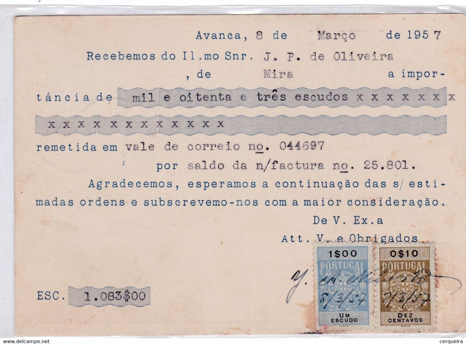 J.A.NEVES . Lª--COM SELOS FISCAIS - Sin Clasificación