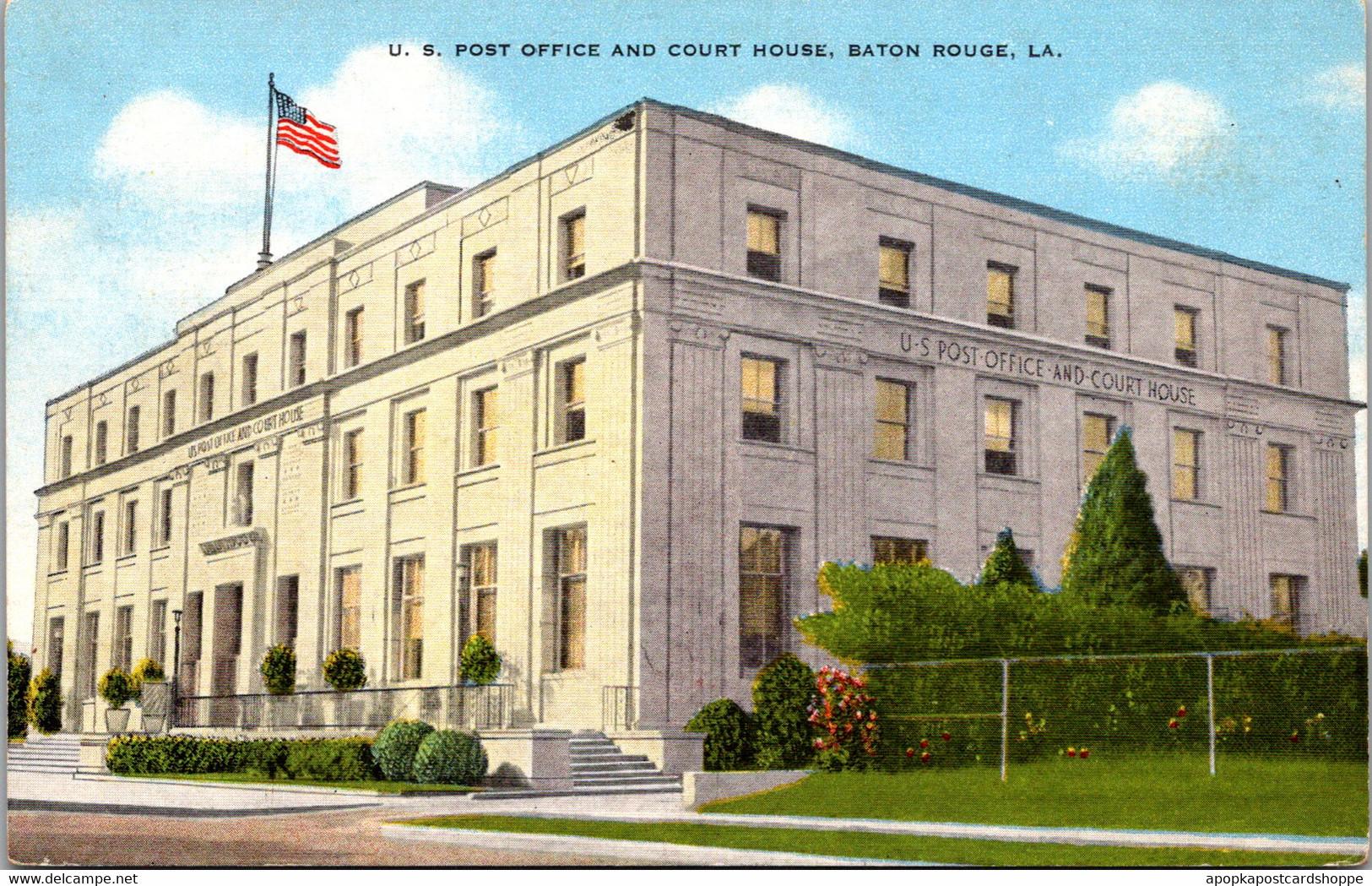 Louisiana Baton Rouge Post Office And Court House - Baton Rouge