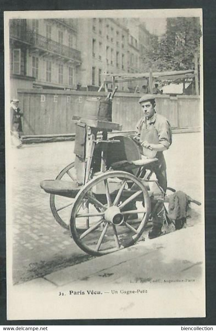 Paris, Un Gagne Petit; Le Remouleur - Artigianato Di Parigi