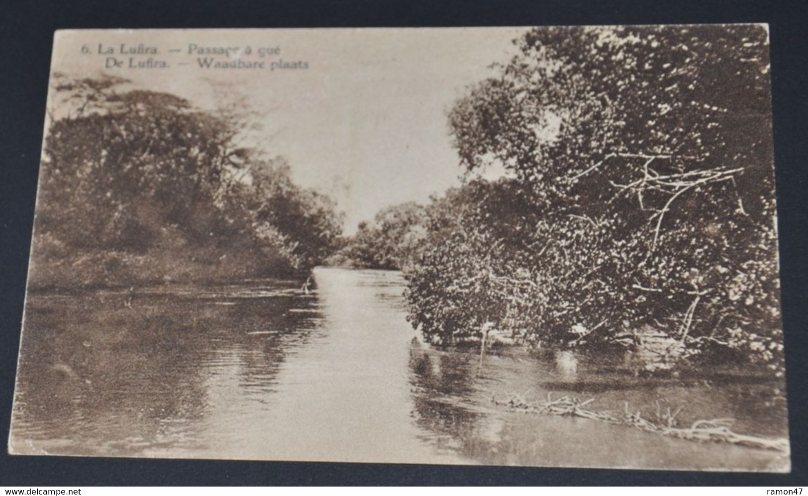 La Lufira - Passage à Gué - Belgisch-Congo - Varia