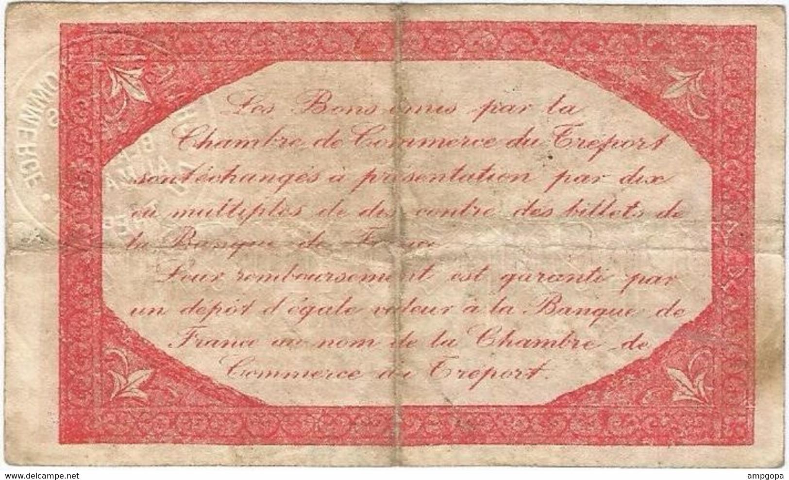 Francia - France 25 Céntimes 13-10-1916 Le Tréport Ref 4735-2 - Chamber Of Commerce