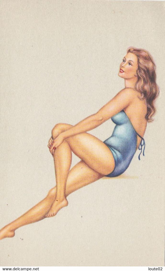 LOT 35 CARTES FEMMES HOMMES - 5 - 99 Postkaarten