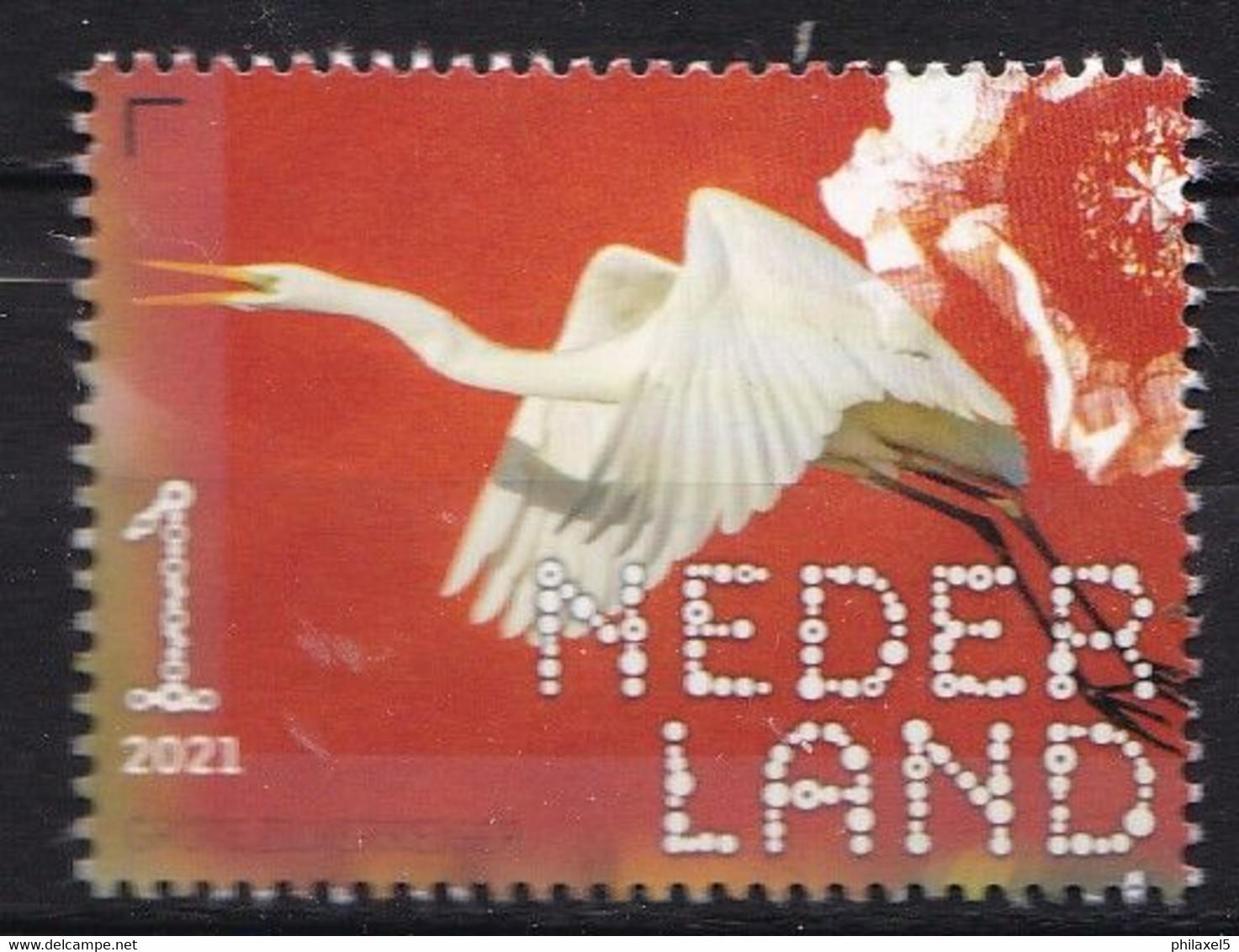 Nederland - Beleef De Natuur - 22 Februari 2021 - De Onlanden - Grote Zilverreiger - MNH - Sonstige
