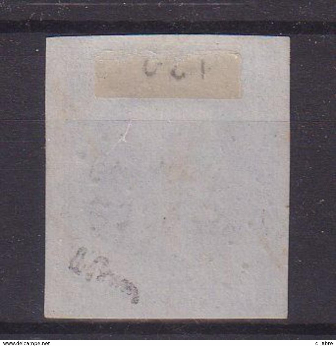 """FRANCE : PC 3776 . """" BOU MEDFA """" . ( ALGER ) . N° 14 . SIGNE BRUN . TB . TRES RARE . - 1849-1876: Période Classique"""