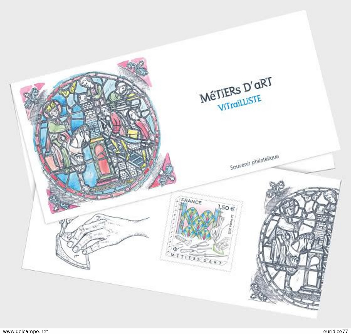France 2021 - Metiers Art Vitralliste Souvenir - Ungebraucht