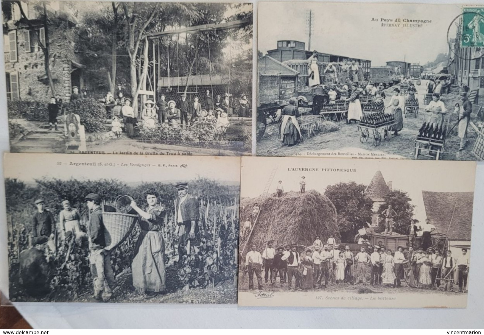 SELECTION Lot 100 CPA De 1er Choix : Villages Français, Belles Animations, Toutes Scannées - TOP! Départ 1E - A VOIR - 5 - 99 Postcards