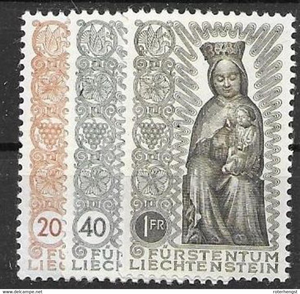 Liechtenstein Mnh ** Madonna Set 1954 58 Euros - Ungebraucht