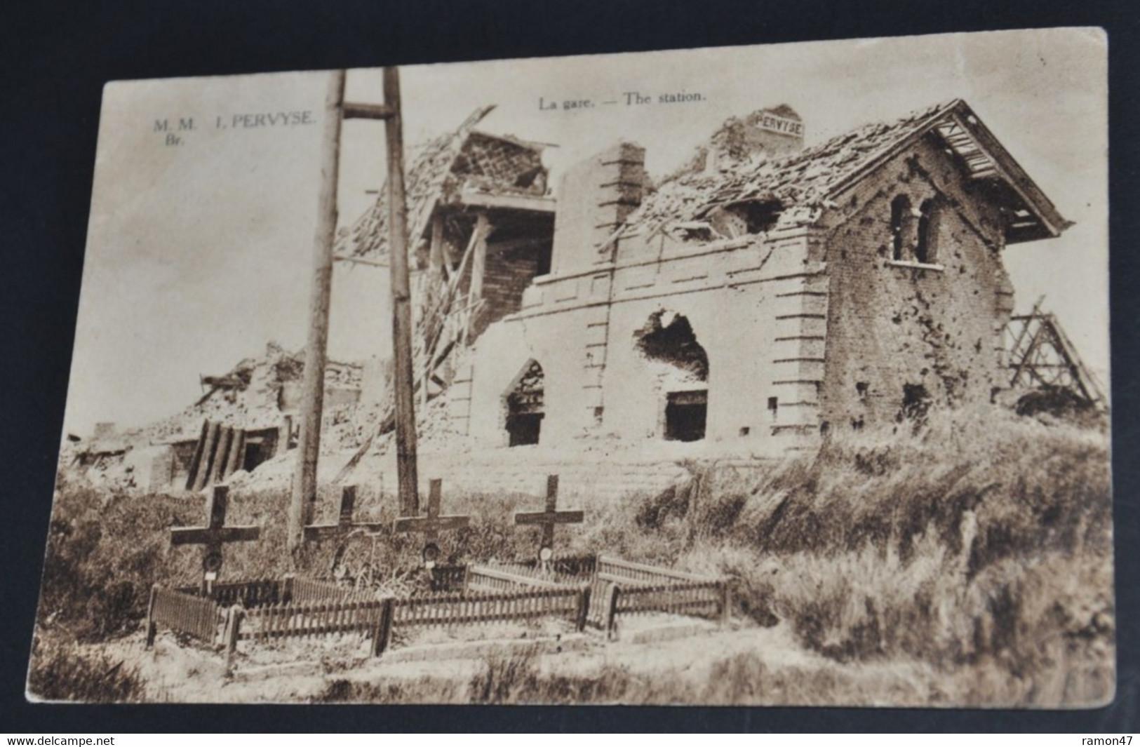 Pervyse - La Gare - Diksmuide