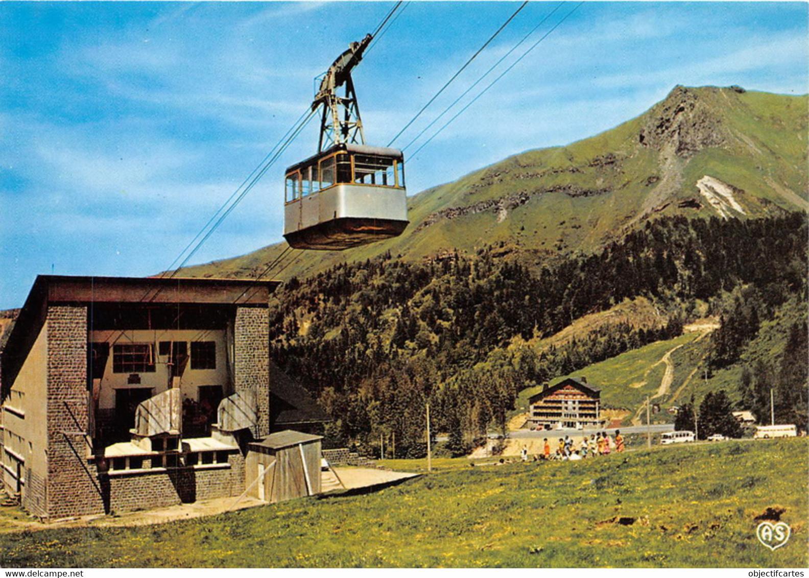 LE SANCY La Gare Inferieure Du Nouveau Teleferique Et L Hotel Du Uy Ferrand 21(scan Recto-verso) MA1486 - Other Municipalities