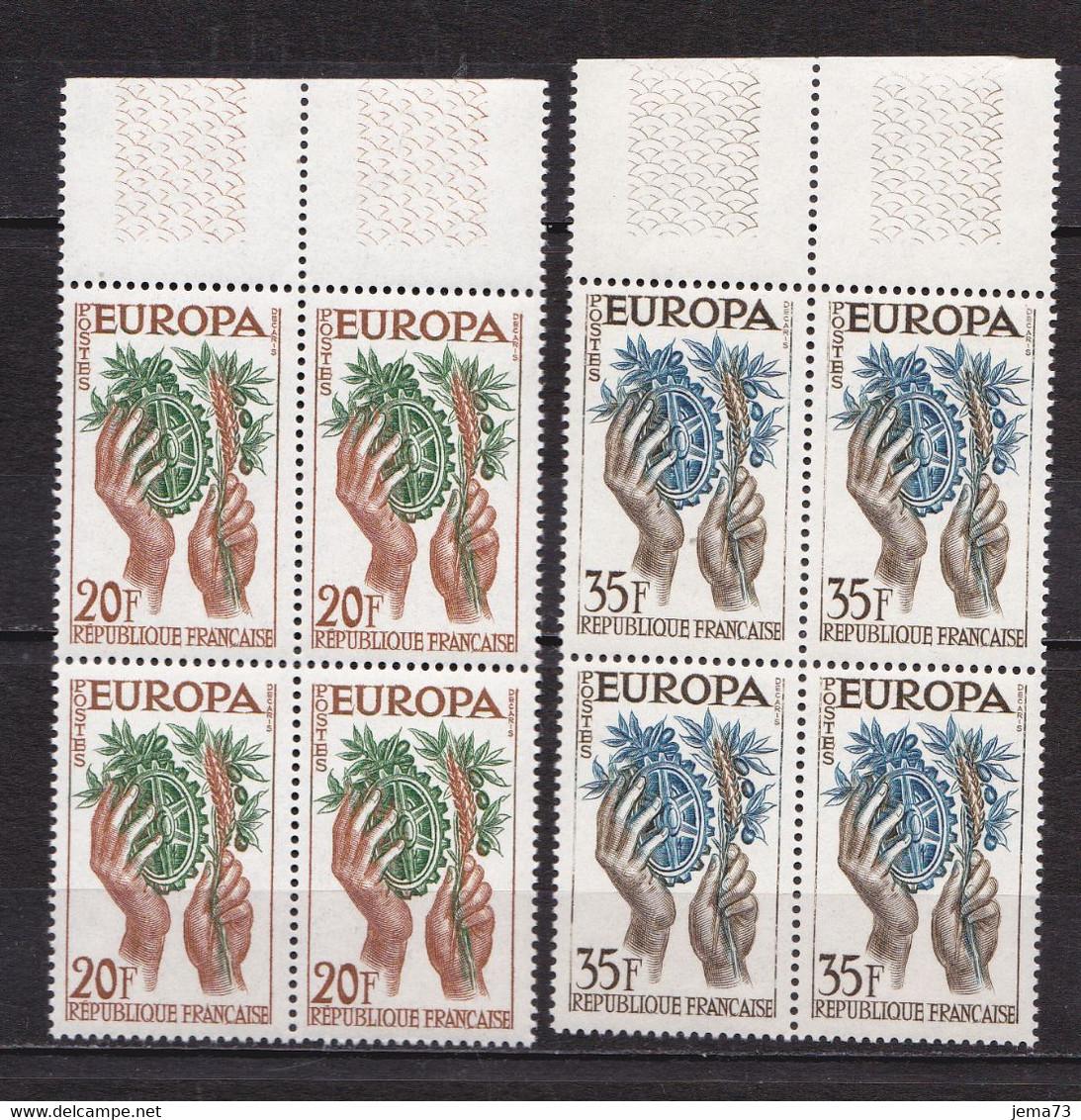 N° 1122 Et 1123 Europa 1957: Belle Paire De 2 Timbres Neuf Impeccable Sans Charnière - Nuovi