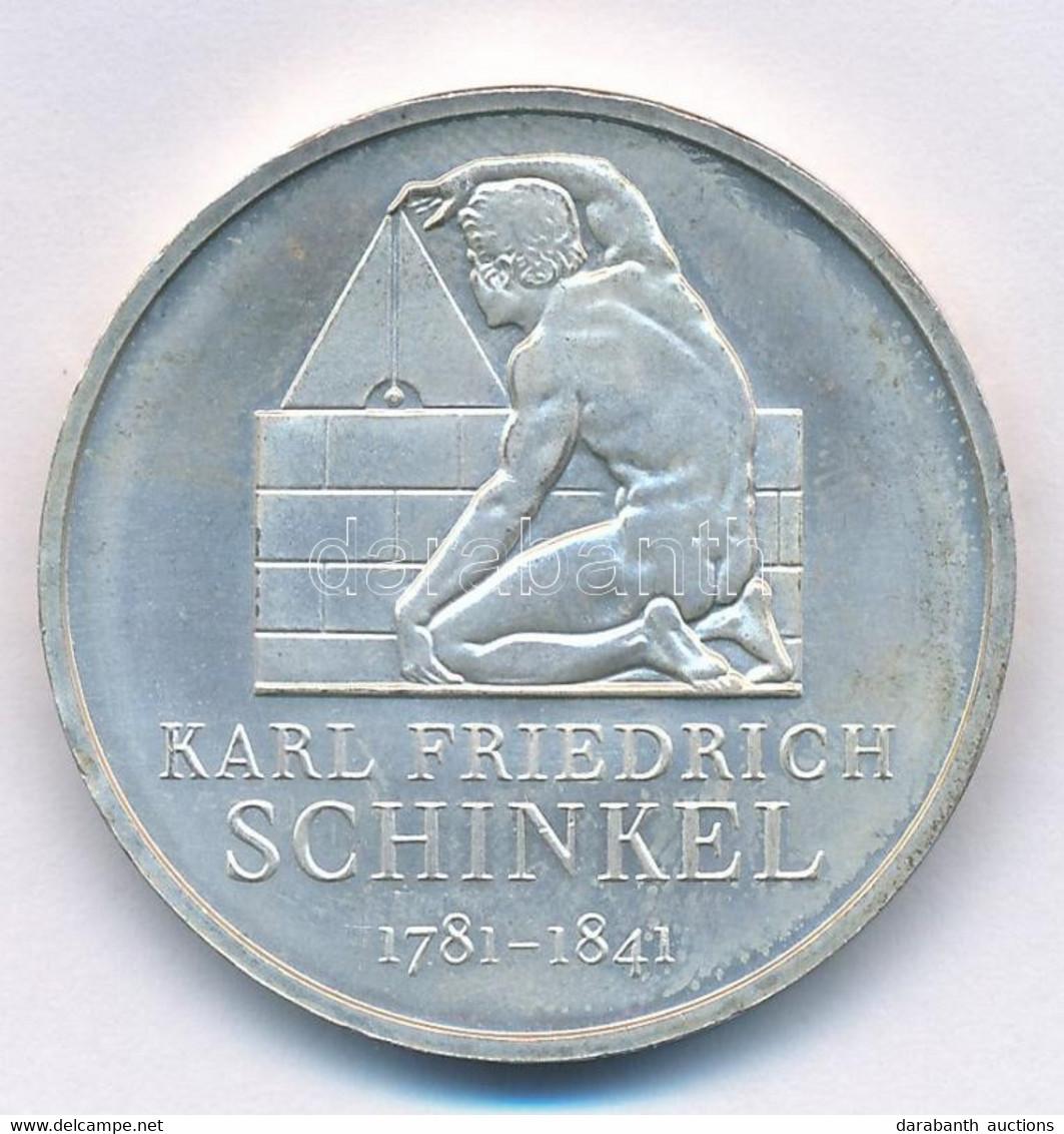 "Németország 2006F 10EUR Ag ""Karl Friedrich Schinkel"" T:1- Germany 2006F 10 Euro Ag ""Karl Friedrich Schinkel"" C:AU  Kraus - Non Classificati"