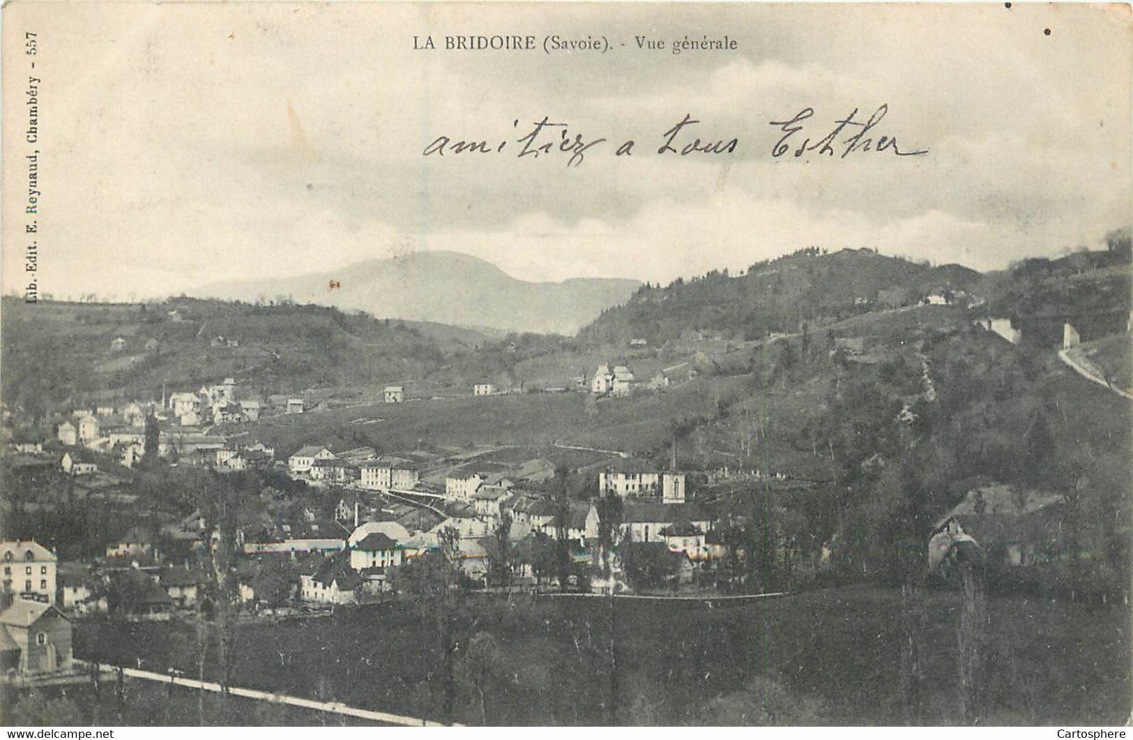 CPA 73 Savoie La Bridoire Vue Générale Précurseur - Altri Comuni