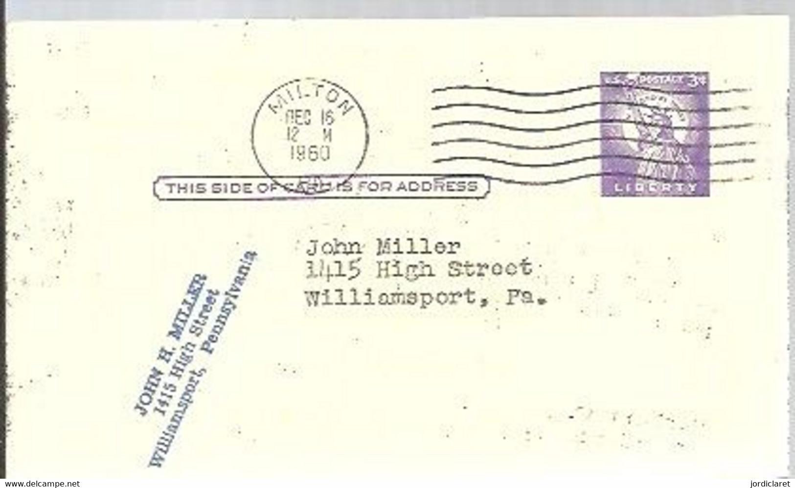 STATIONERY 1960  MILTON - 1941-60