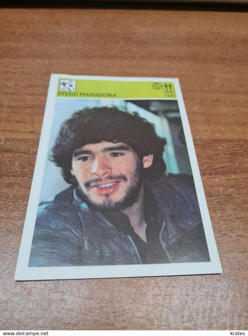 Svijet Sporta Card - Soccer, Diego Maradona     87 - Calcio