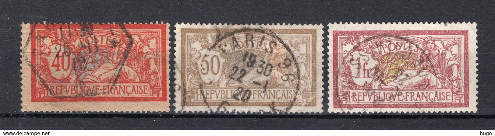 FRANKRIJK Yt. 119/121° Gestempeld 1900 - Gebruikt