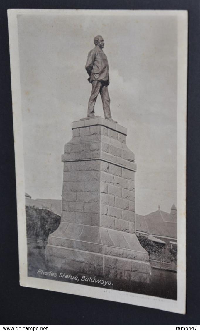 Buluwayo - Rhodes Statue - Zimbabwe