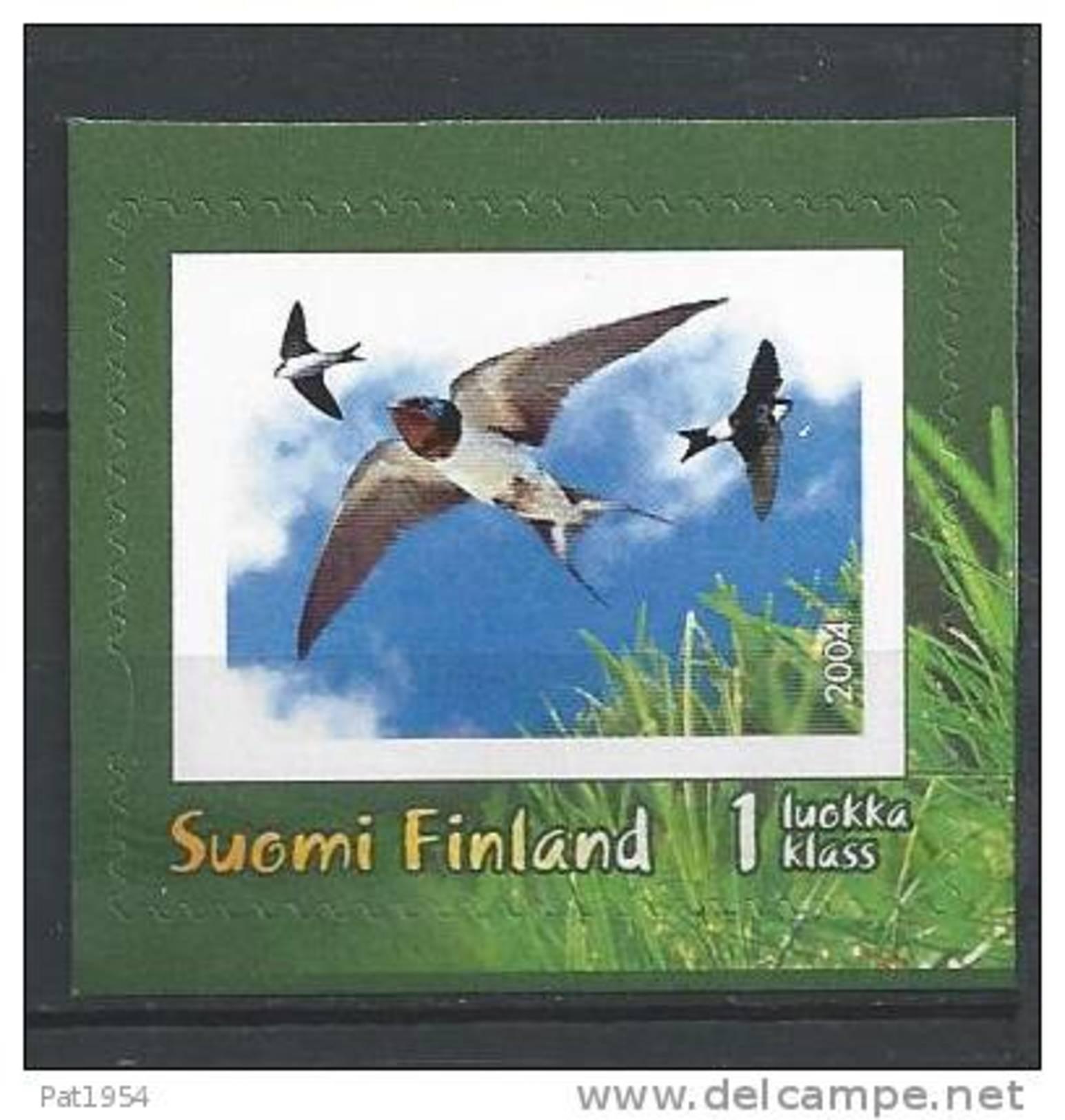 Finlande 2004 N°1670 Neuf Oiseau Hirondelle - Unused Stamps