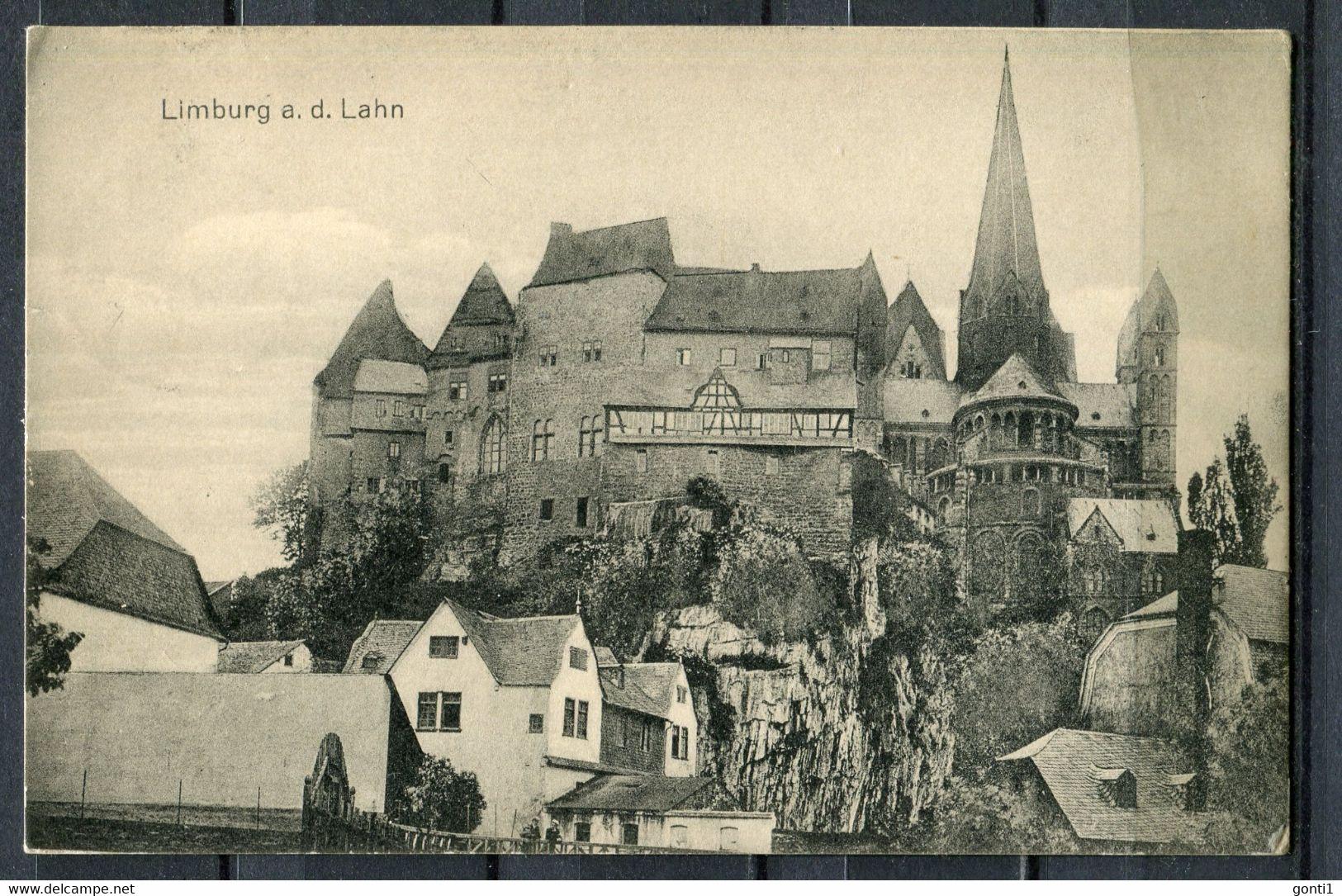 "CPS S/w AK German Empires,DR Limburg An Der Lahn 1916 Feldpost ""Limburg-Ortsblick"" 1 AK Used - Limburg"