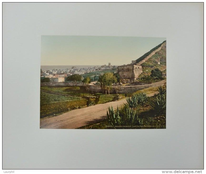 Las Palmas De Gran Canaria Photochrome 1900 Vue Générale - Ancianas (antes De 1900)