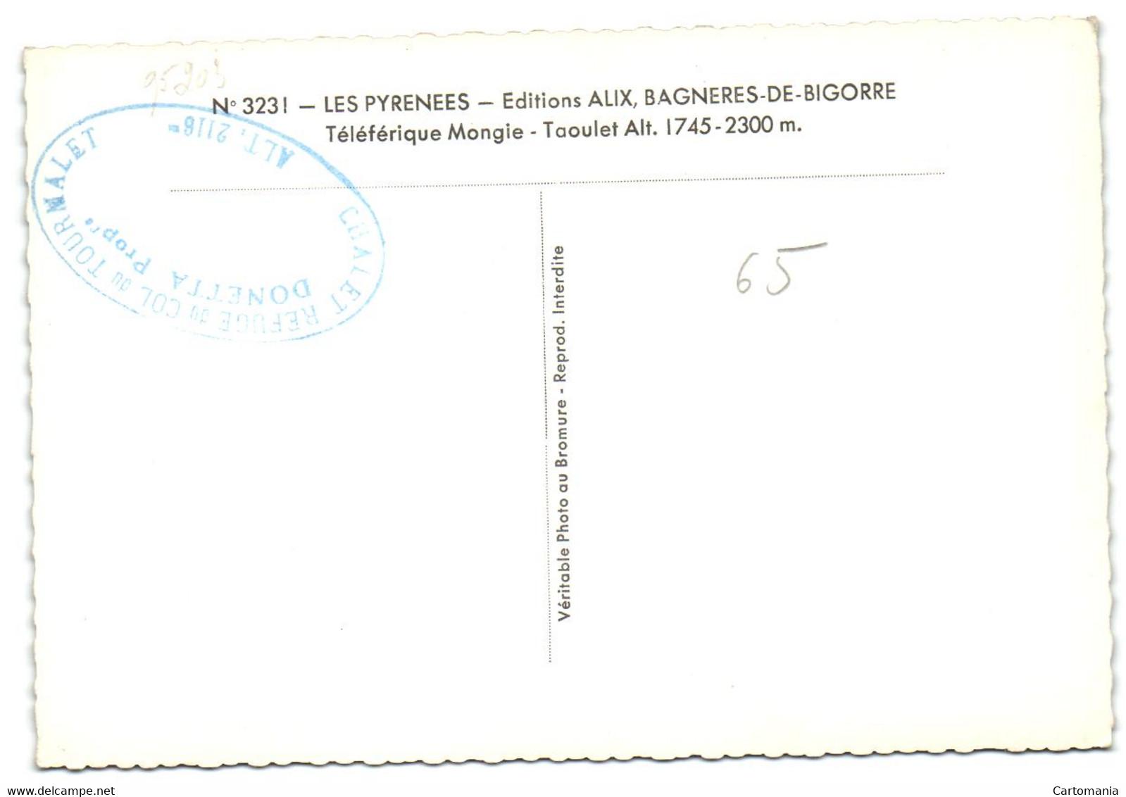 Les Pryrénées - Téléférique Mongie - Taoulet - Unclassified