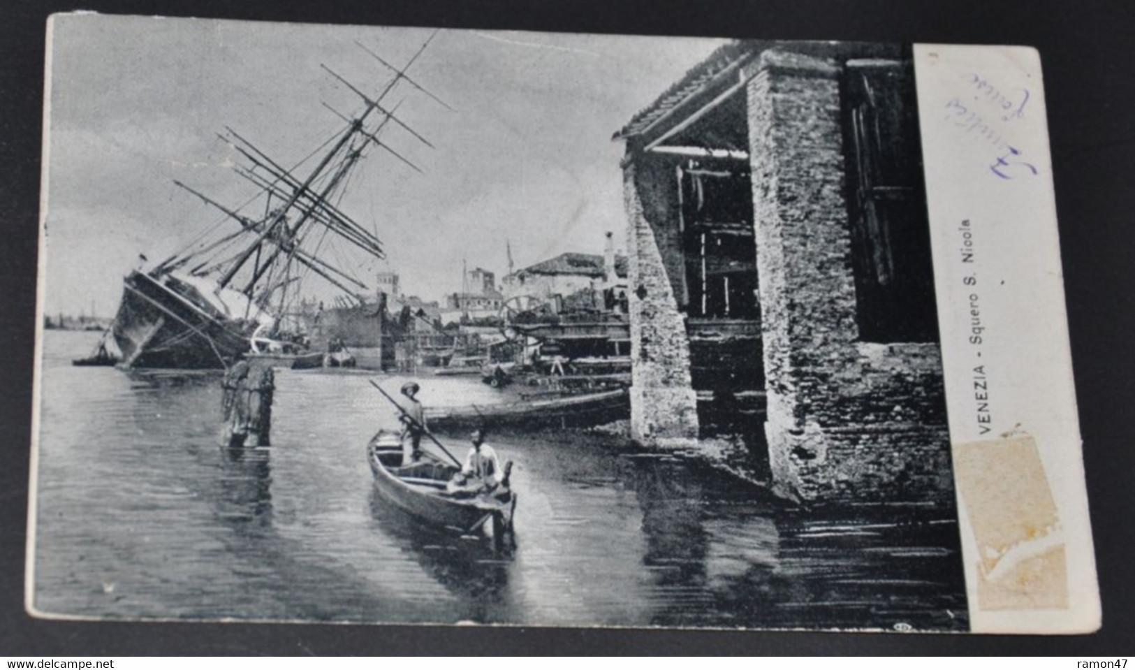 Venezia - Squero S. Nicola - Venetië (Venice)
