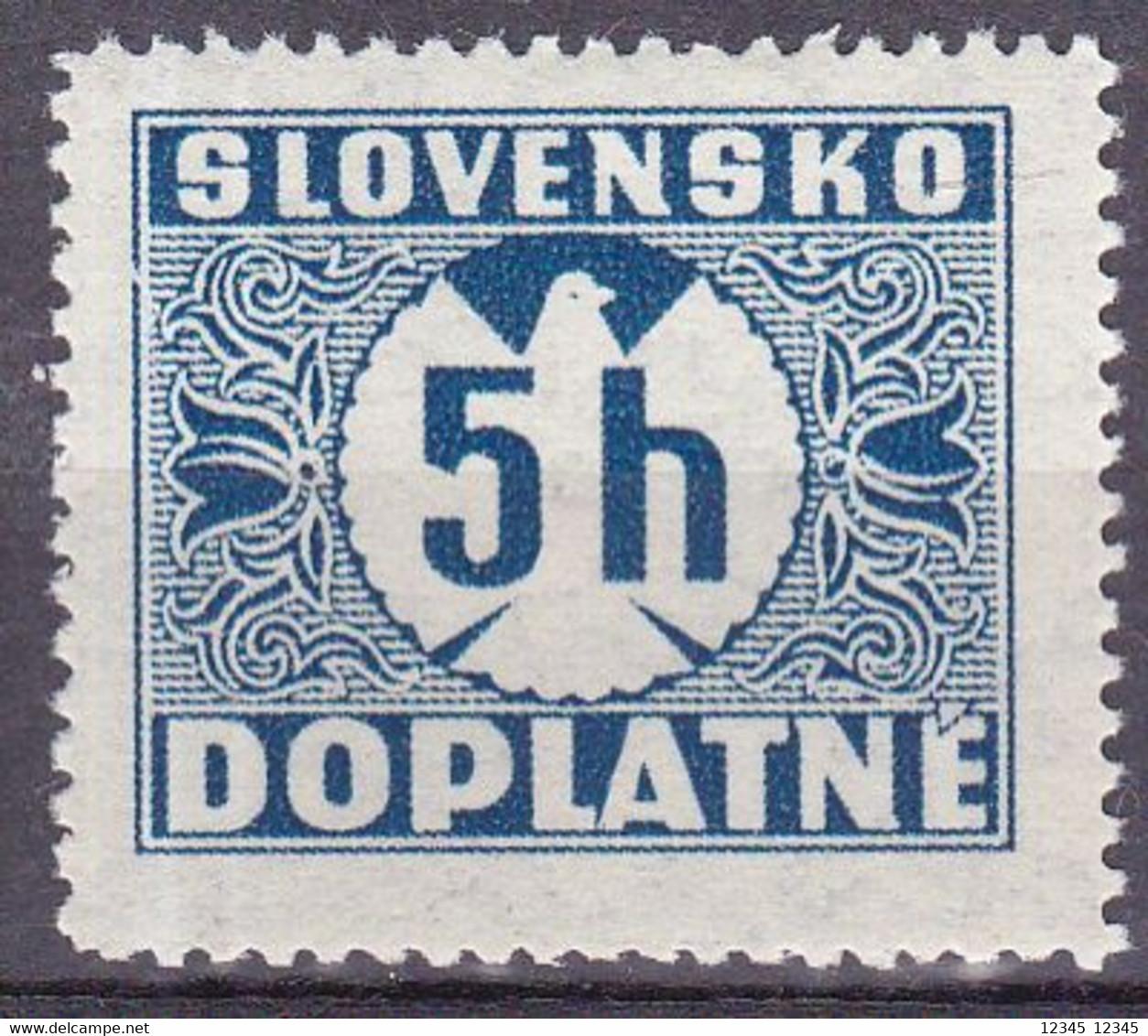 Slowakije1940-41, Postfris MNH, Port Stamps - Unused Stamps