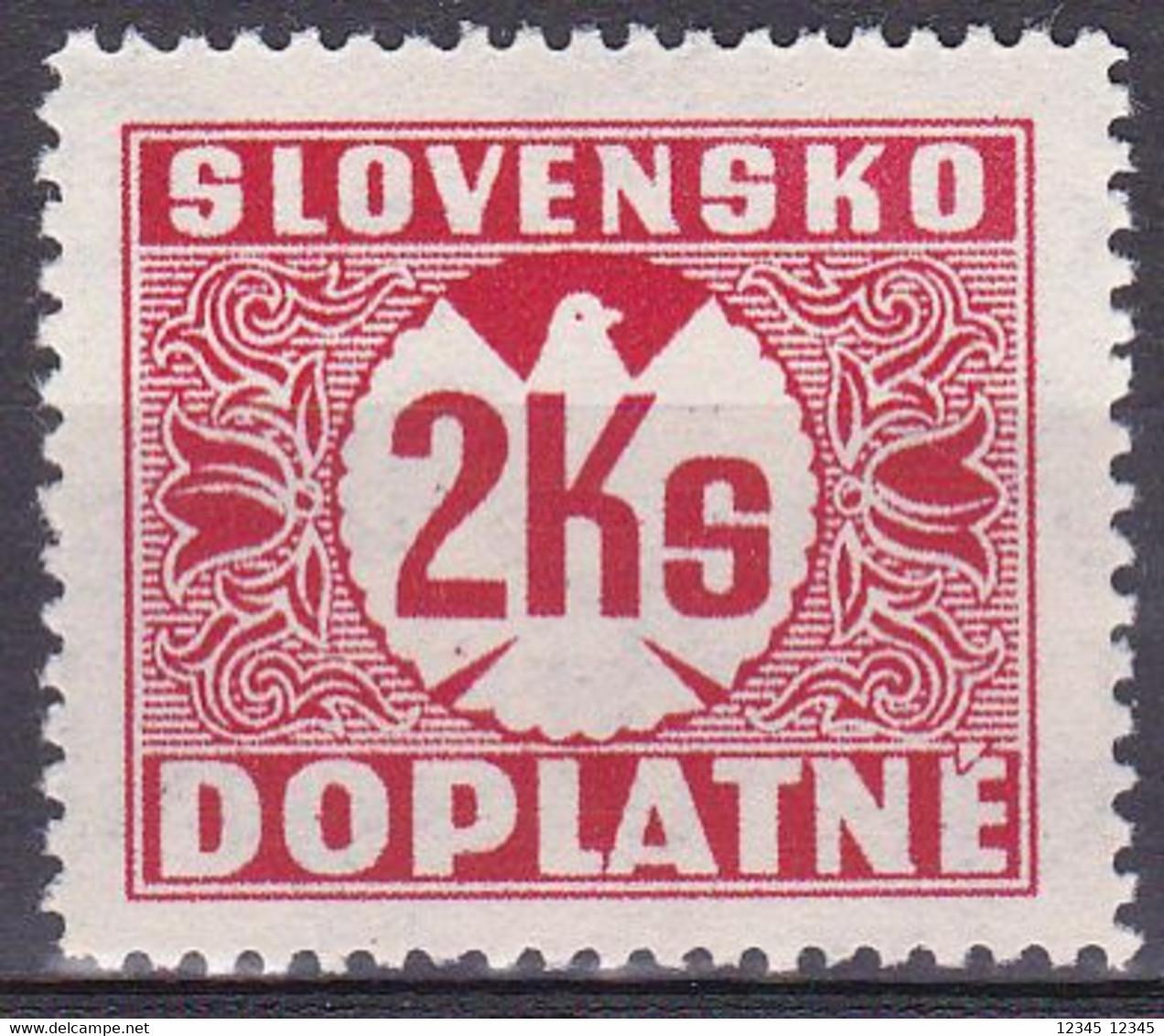 Slowakije1940-41, Postfris MNH, Port Stamps - Nuovi