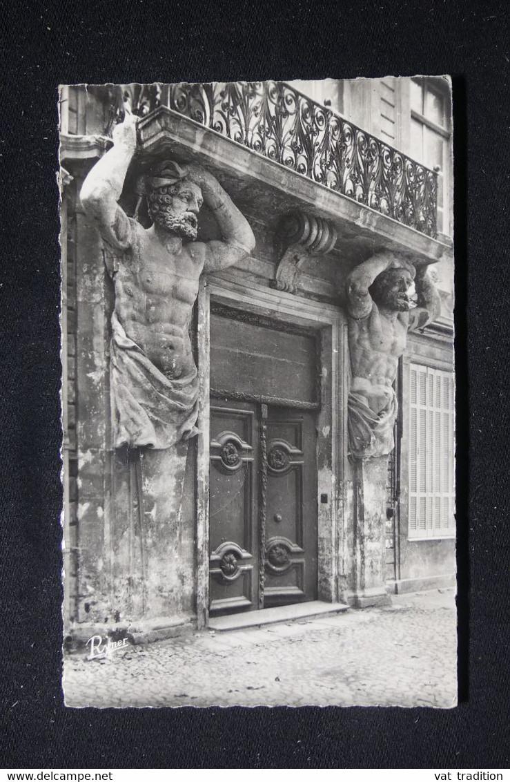 FRANCE - CP D'Aix En Provence Pour Sens Et Redirigé Vers Lens En 1955 - Inconnu á L'appel Du Facteur - L 90454 - 1921-1960: Modern Tijdperk