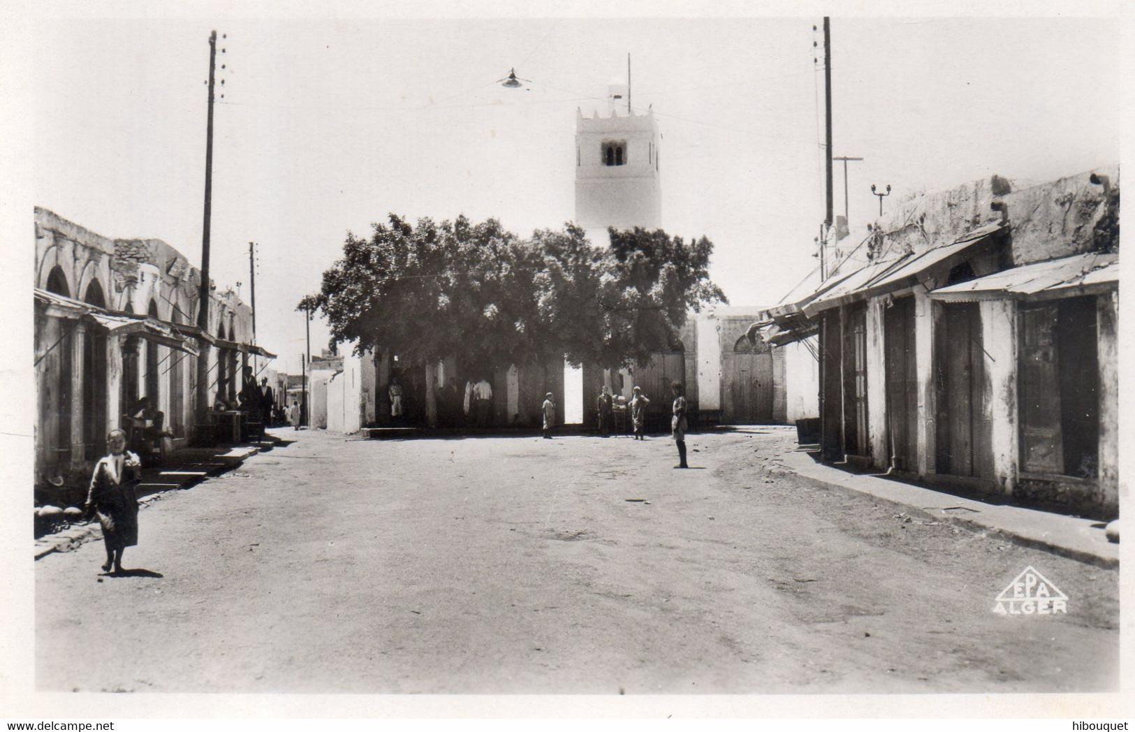 Photo Carte, Moknine, Place Du Commerce N°6, Animée - Tunisia