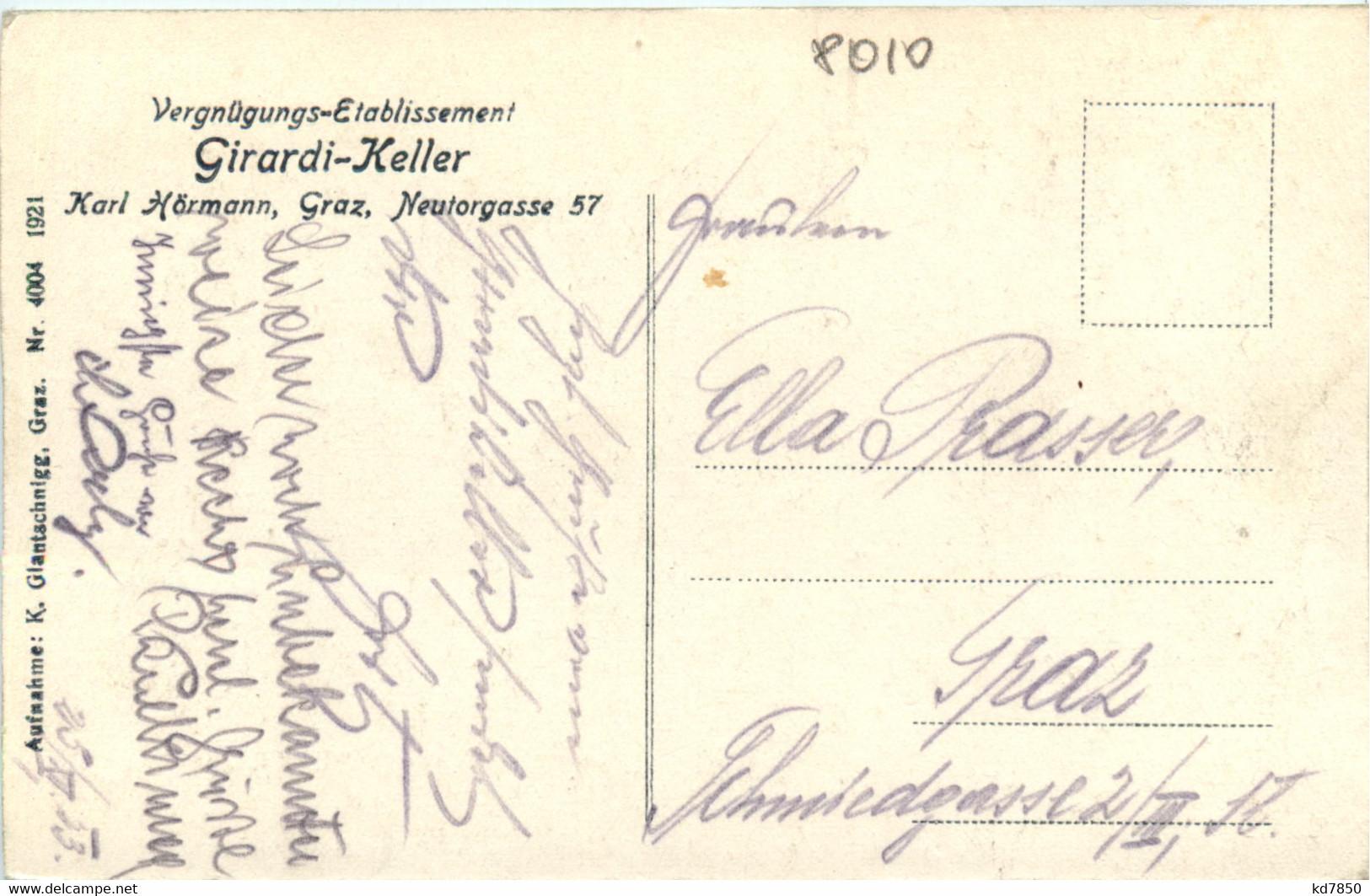 Graz - Vergnügungs-Etablissement Girardi Keller - Graz