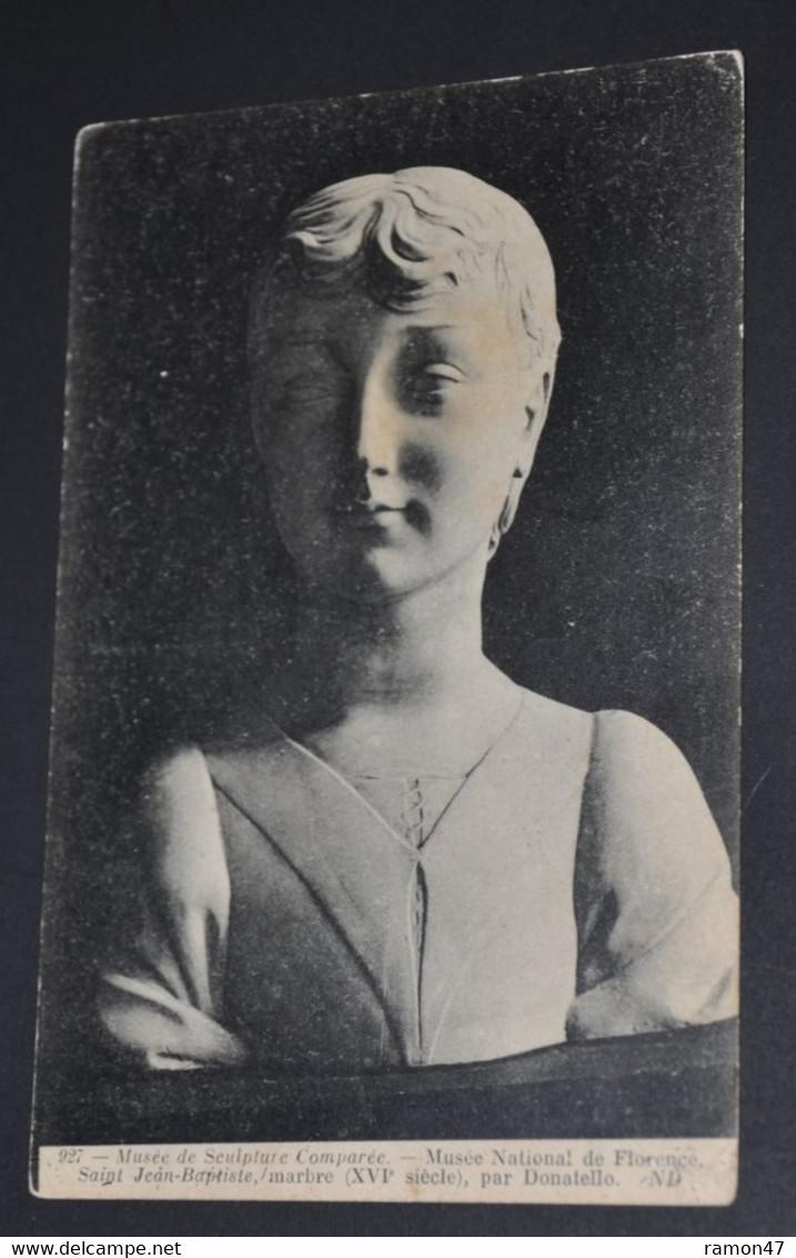 Musée De Sculpture Comparée -  National De Florence - Saint Jean-Baptiste, Marbre, Par Donatello - Museum