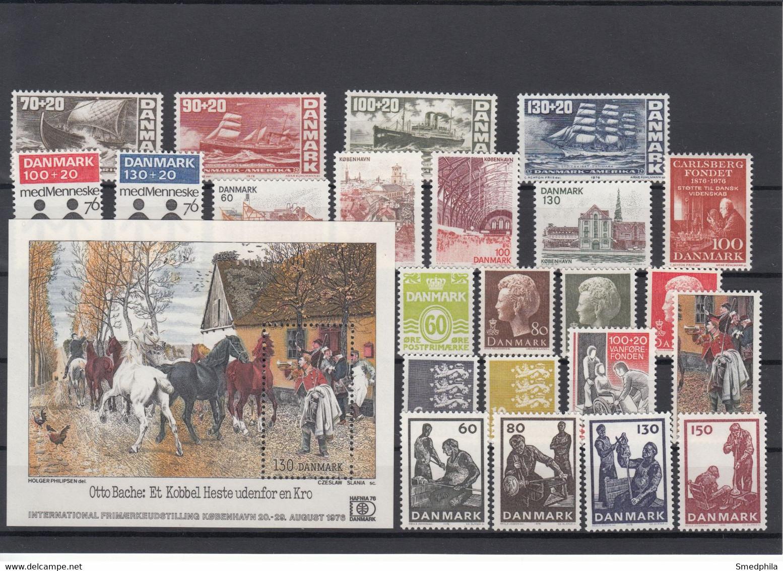 Denmark 1976 - Full Year MNH ** - Volledig Jaar