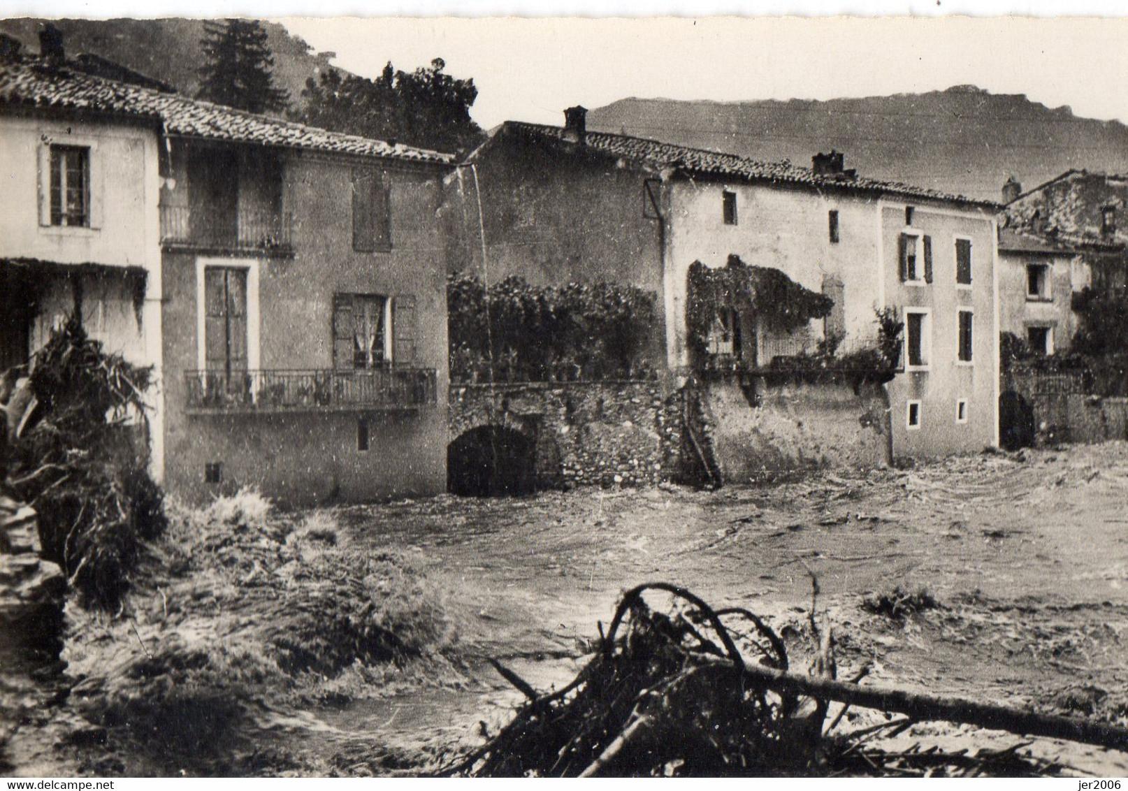 30 . GARD .//  SUMENE.INNONDATION 30 SEPTEMBRE 1958. DECRUE DU RIEUTORD - Sumène
