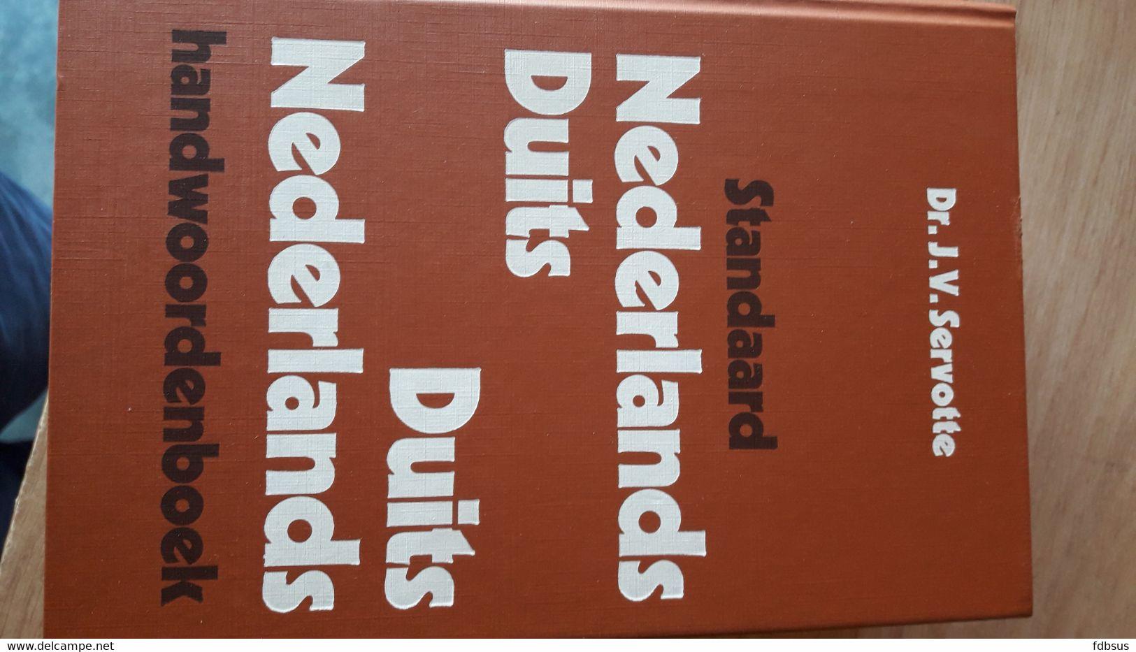 Woordenboek Standaard DUITS - NEDERLANDS   NEDERLANDS - DUITS - Woordenboeken
